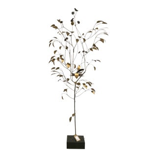1960s Curtis Jere 1962 Brass Tree For Sale