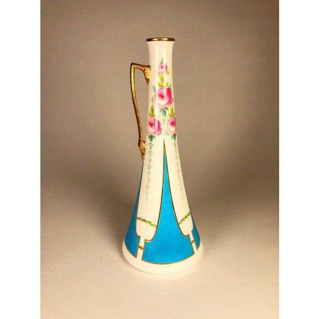 Minton Vintage Mintons English Vase For Sale - Image 4 of 6