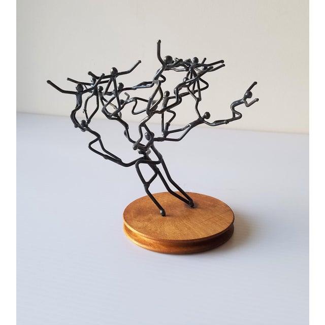 Black Glenn Donovan Original Sculpture For Sale - Image 8 of 8