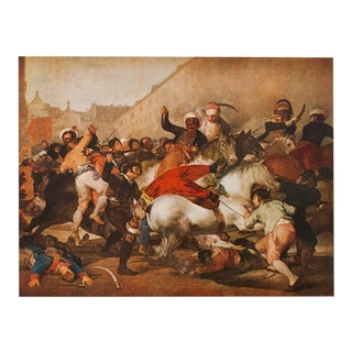 "1950s Francisco Goya, ""The Charge of the Mamelukes"" First Edition Lithograph For Sale"