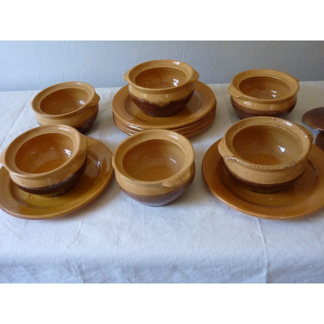 Mid-Century Modern French Onion Soup Bowls - 18 Pieces For Sale - Image 3 of 6
