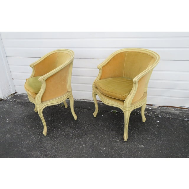 French Burl Shape Four Side Chairs by Jamestown Lounge Co 2112 For Sale - Image 12 of 13