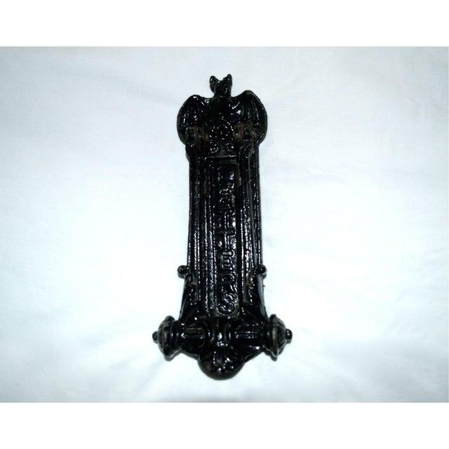 Kenrick Bat Door Knocker & Letter Slot For Sale - Image 10 of 11