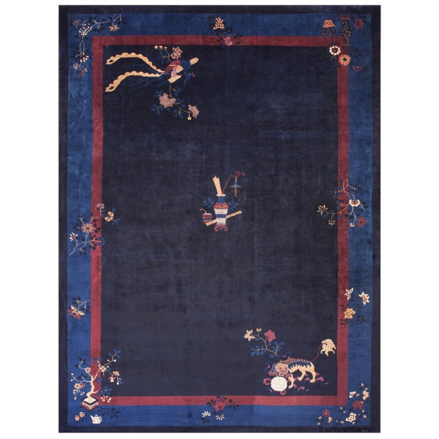 """Antique Chinese - Peking Rug 11'0""""x15'0"""" For Sale In New York - Image 6 of 6"""