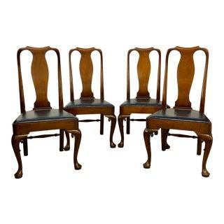 Kittinger Williamsburg Restoration Hampton Court Dining Chairs - Set of 4 For Sale