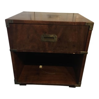 Henredon Campaign Style Side Table