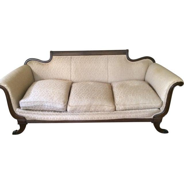 Duncan Phyfe Antique Sofa For Sale