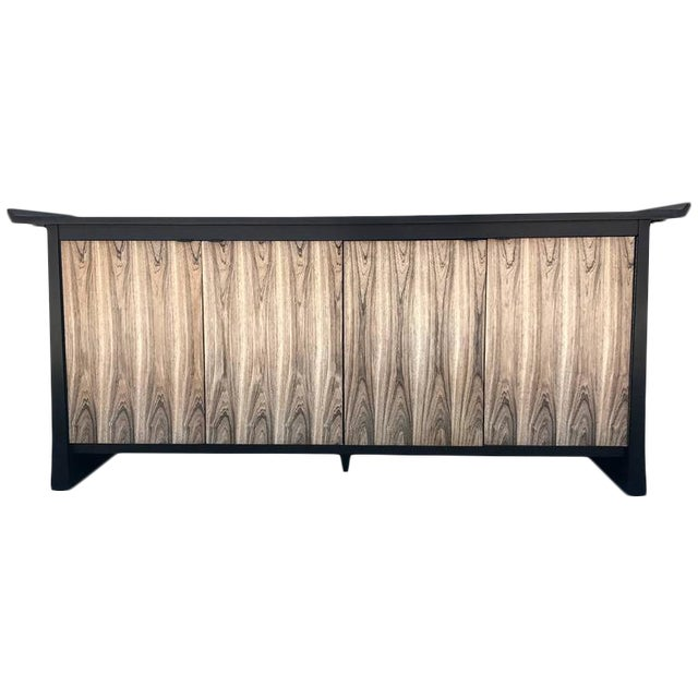 Bernhardt 2-Tone Asian Flair Sideboard For Sale
