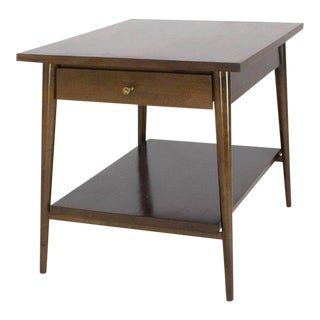 Mid-Century Modern Paul McCobb Planner Group Winchendon Two-Tier Nightstand For Sale