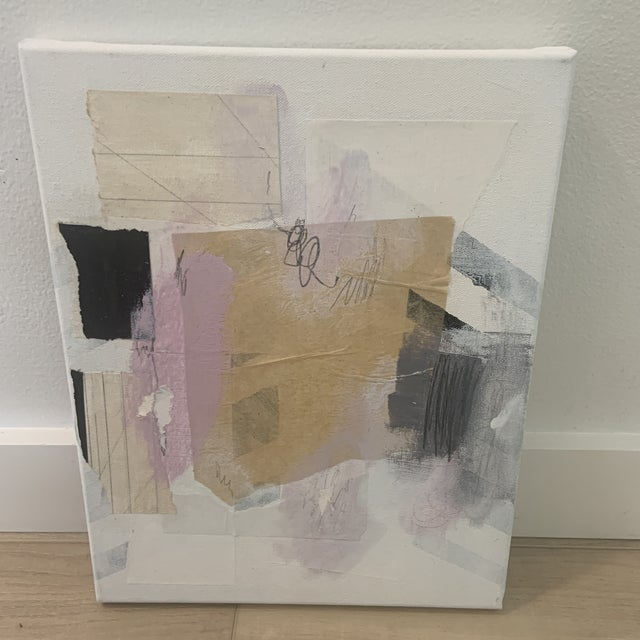 Contemporary Modern Abstract Mixed-Media Painting by Ross Severson For Sale In Milwaukee - Image 6 of 8