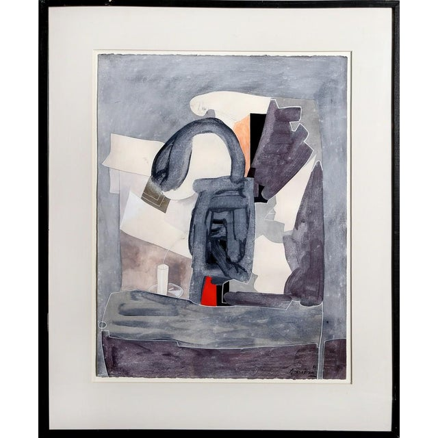 Abstract Eduardo Arranz-Bravo, Blue/Grey (from the Sweerts Suite), 1990 For Sale - Image 3 of 3