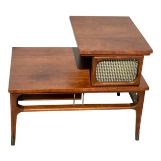 1960s Mid-Century Modern Two Tier Side Table For Sale