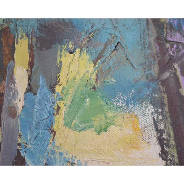 Mid 20th Century Abstract Expressionist Painting by Armando Del Cimmuto For Sale - Image 9 of 13