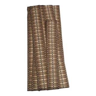 Samuel & Sons Orsay Silk Ribbed Border Trim Taupe - Remnant Pieces