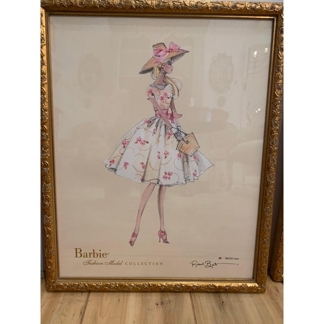 Barbie Fashion Model Collectible Prints - Set of 4 For Sale - Image 4 of 13