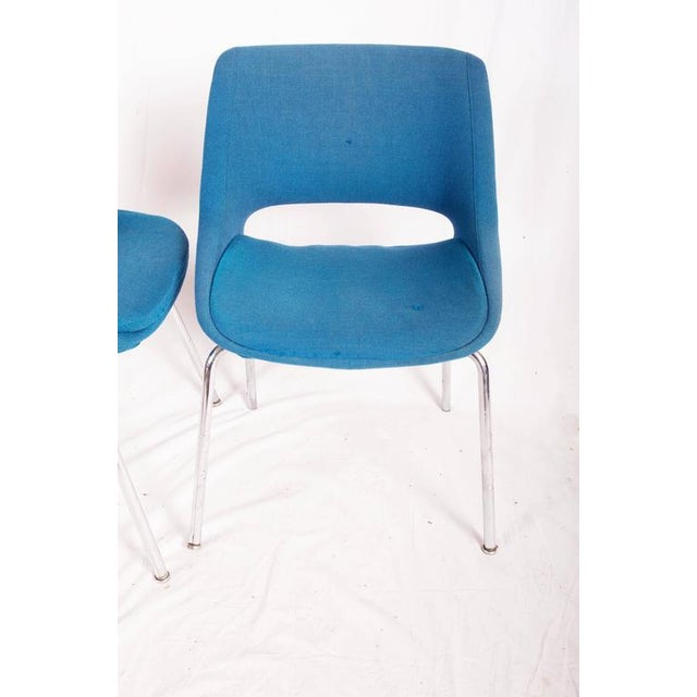 Metal Mid-Century Chairs by Olli Mannermaa for Martela Oy - A Pair For Sale - Image 7 of 11
