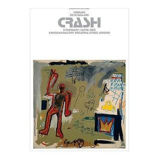 Basquiat London Crash Exhibition Poster