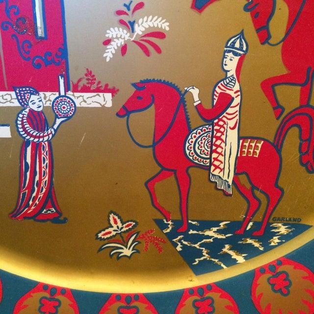 Taj Mahal Decorative Metal Plate - Image 3 of 4