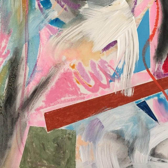 "Erik Sulander ""Beach Condo"" Mixed Media Painting For Sale"