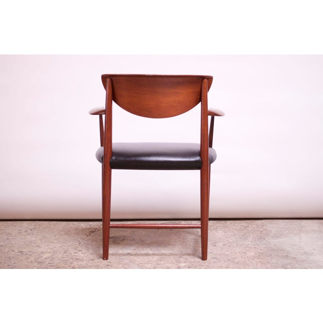 Teak Dining Chairs by Peter Hvidt and Orla Mølgaard Nielsen - Set of 8 For Sale In New York - Image 6 of 13