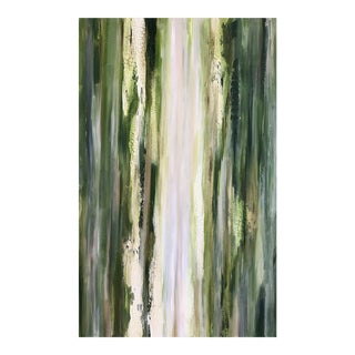 'Forest' Original Abstract Painting by Linnea Heide For Sale