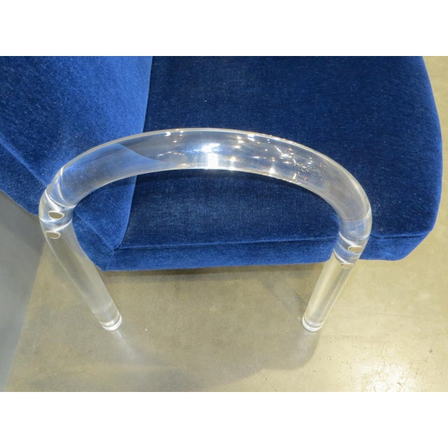 Pace Collection Lucite Lounge / Side Chairs- a Pair - Image 5 of 12
