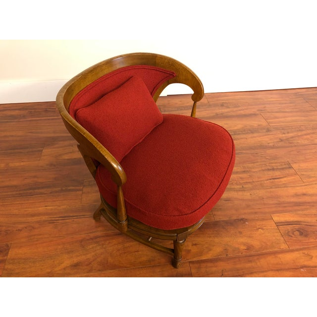 Tomlinson Sophisticate Vintage Occasional Chair For Sale - Image 10 of 13
