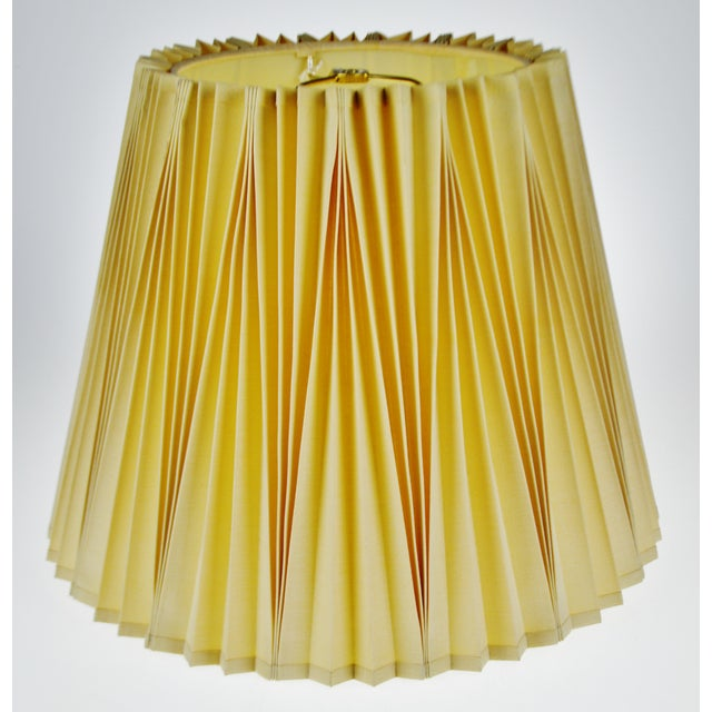 Vintage rembrandt pleated lamp shades one shade only chairish vintage rembrandt pleated lamp shades one shade only image 2 of 7 aloadofball Images