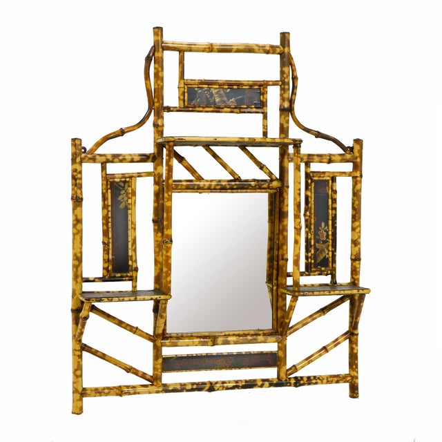 A delightful piece which is equally at home in an Asian modern interior as it is in a tropical space, this antiqued bamboo...