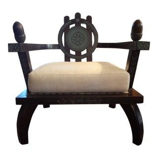 Ettore Zaccari Italian Lounge Chair