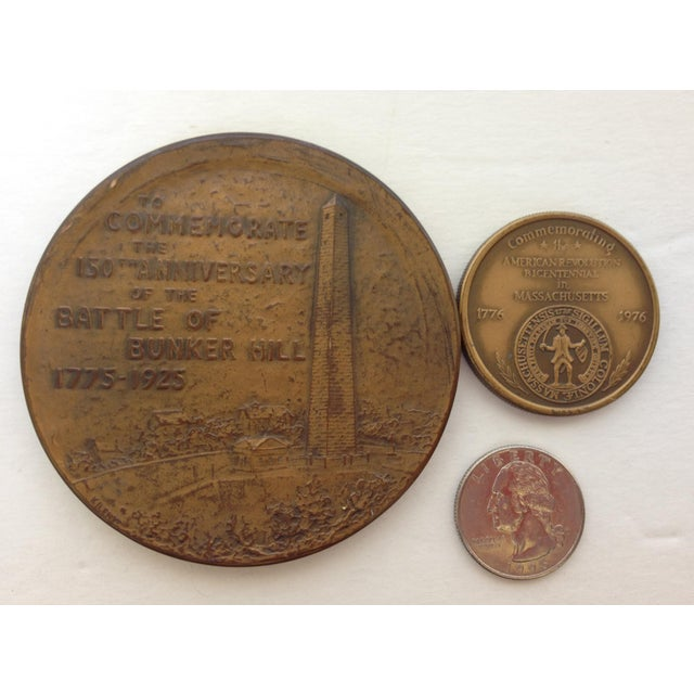 Vintage Medal Medallions & Paperweights - Set of 5 - Image 5 of 9