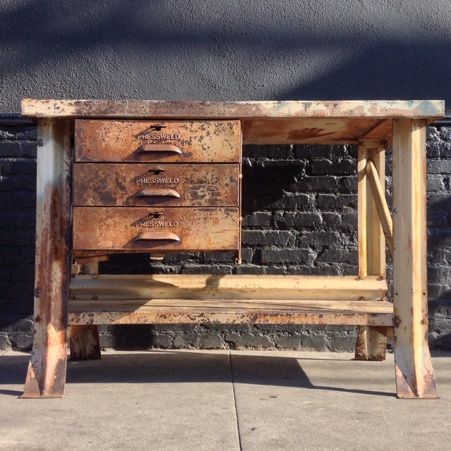 Industrial Desk - Image 5 of 7