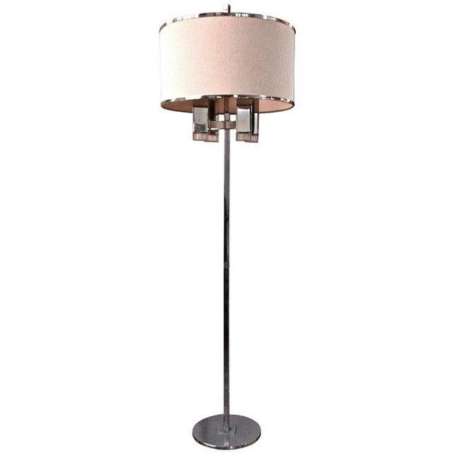 Metal Sciolari Floor Lamp For Sale - Image 7 of 7