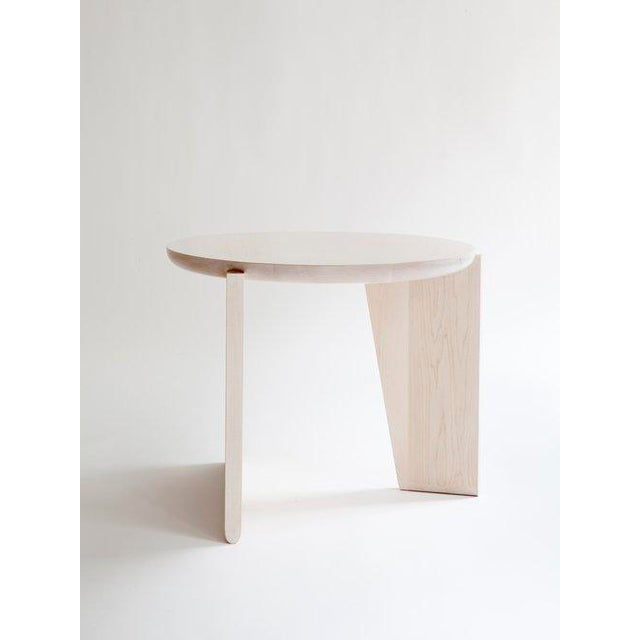 By Egg Collective Starting Price: $4,300 in wood Specifications: 20″ h x 24″ dia. Shown In: Walnut and Bleached Maple...