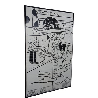 "1980s Aqui! Magazine Pop Art Poster Print Issue #6 by Steve Gianakos 69"" For Sale"