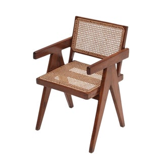 Modern Pierre Jeanneret Style Office Chair For Sale