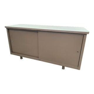 1970's Vintage Mid Century Macdowell and Craig Metal Credenza For Sale