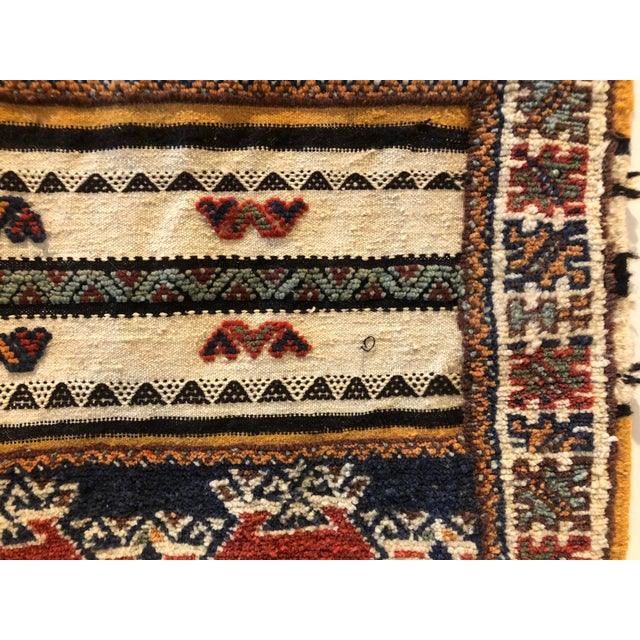 Mid 20th Century Vintage Moroccan Rug For Sale - Image 5 of 8