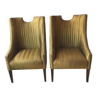 Vintage Club Chairs by Lane - A Pair