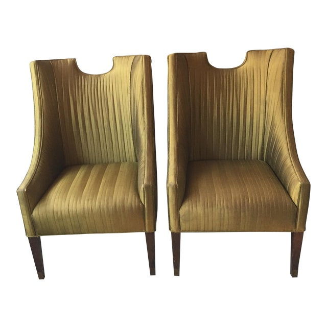 Vintage Club Chairs by Lane - A Pair - Image 1 of 11
