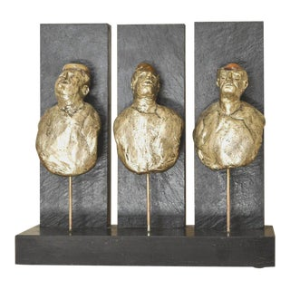 Sculpture in Mixed Media by Birger Brondum For Sale