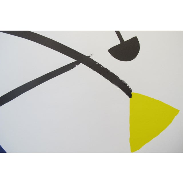 1992 Original Exhibition Poster, Institut Français De Prague - Calder For Sale - Image 4 of 7