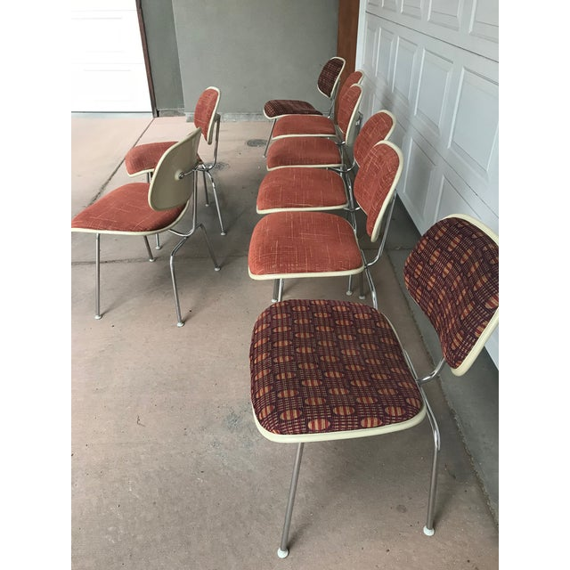 1970s 1970s Eames for Herman Miller DCM Chairs - Set of 8 For Sale - Image 5 of 13