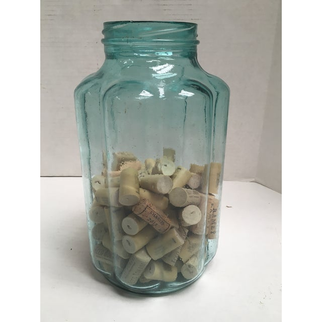 Vintage Blown Glass Fluted Pickling Jars - A Pair - Image 7 of 8