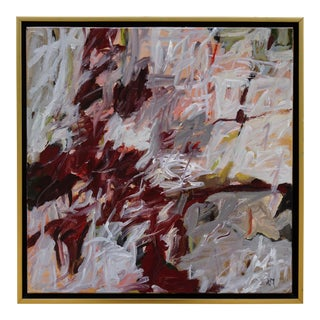 """Laurie MacMillan """"Nest"""" Abstract Painting"""