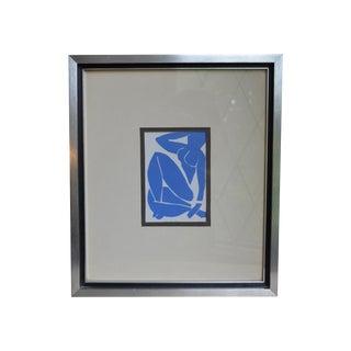 Henri Matisse Nu Bleu Framed Print