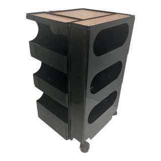 Joe Colombo Black Plastic Boby Cabinet For Sale