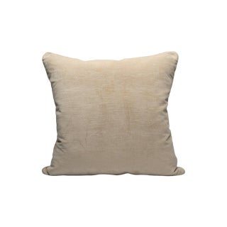 Scalamandre Persia Pillow, Natural For Sale