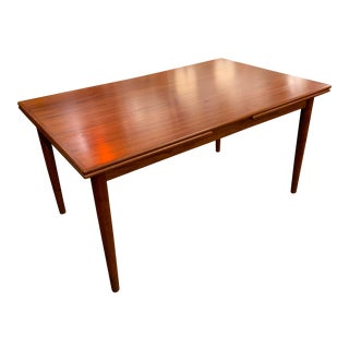 1960s Scandinavian Teak Refractory Table by Ansager For Sale