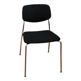 Swiss Felber - Patented Exchangeable Seat and Back - C14 Swiss Metal Stacking Chair For Sale